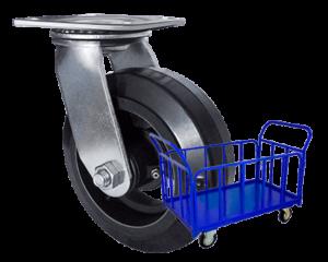 колеса для тележек промышленные